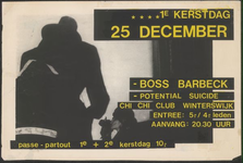 7 Boss Barbeck, Potential Suicide. Chi Chi Club Winterswijk
