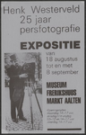 61 Expositie Henk Westerveld 25 jaar persfotografie. Museum Frerikshuus Aalten