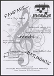 105 Fanfare meets harmonie. Eendracht Winterswijk o.l.v. Thijs Musch, Harmonie Orkest Brummen o.l.v. Robbert Vos. ...