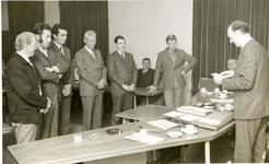 1095-15-132 Uitreiking diploma's aan leden van de vrijwillige brandweer