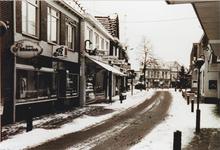 174 Straatbeeld met sneeuw