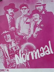 10 'NORMAAL Spølt in' met v.l.n.r. Bennie Jolink, Jan Manschot, Henk Wolters (alias Hendrik Haverkamp), Ferdie Jolij en ...