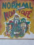 13 'MET NORMAAL NOAR 'T CAFÉ' met daarop een afbeelding van Paul Kemper, Bennie Jolink, Jan Manschot en Willem Terhorst