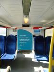 NL-DtcSARA_1628_0024 Afgezet deel van treincoupe Arriva Arnhem-Winterswijk vanwege Corona