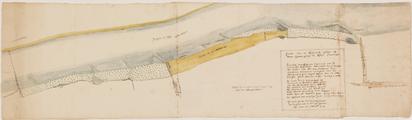 413 Caarte van de Rijsweerde gelegen in Over-Betuwe langs den Rhijn onder Driel, 7 september 1724