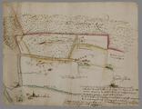 1409 [Een aan Willem van Raesfelt in erfpacht uitgegeven stuk veldgrond in de Moft ten noordwesten van het dorp ...