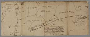 5503-1668-13-0002 [Gedeelte van een kaart van Coenenbosch en des lantschaps struellen onder Renkum], [ca. 1660]