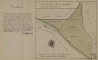 184 Gemete kaart van Keysershof en den Ossen kamp, 9 september 1769