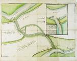190-0002 [Carteringh van 't Retranchement en doorsnijdingh tussen Panderen ende Doornenburg], 24 juli 1705