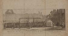 1131-0001 Execercitie der Amst. burgerij in tegenwoordigheid van den Baron v.d Capellen t.d Poll, 1783