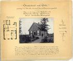 165 Type der woningen op het Hofveld en het Hattemsche veld bij Apeldoorn. Stelsel Bescheiden Heidegeluk , 1896