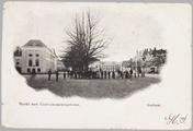 1313 Markt met Gouvernementsgebouw Arnhem., ca. 1915