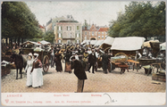 1351 Arnhem Groote Markt - Marktdag, ca. 1905