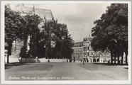 1386 Arnhem, Markt met Eusebiuskerk en Stadhuis, ca. 1935