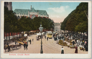 1424 Arnhem, Groote Markt, ca. 1915