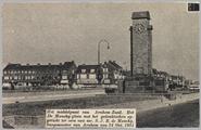 1551 Het middelpunt van Arnhem-Zuid. Het De Monchy-plein met het gedenkteken opgericht ter eere van mr. S.J.R. de ...