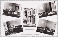 1902 Groeten uit Hotel Rembrandt Arnhem, ca. 1925