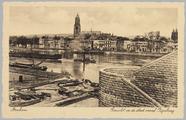 2038 Arnhem Gezicht op de stad vanaf Rijnbrug, ca. 1935