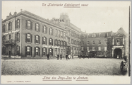 2426 De Historische Sabelspoort naast Hotel des Pays-Bas te Arnhem, ca. 1925