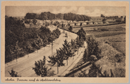 332 Arnhem, Panorama vanaf de Apeldoornschebrug, ca. 1950