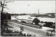 4123 Arnhem, Gezicht op de Rijn, ca. 1950