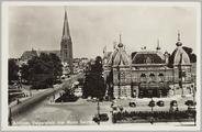 4294 Arnhem, Velperplein met Musis Sacrum., ca. 1950