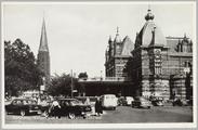 4295 Arnhem, Velperplein met Musis Sacrum, ca. 1950