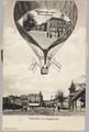 4457-0004 Groeten uit Arnhem: Velperplein met Binnensingel/Velperplein met Roggestraat, ca. 1935