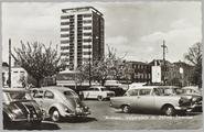 4499 Arnhem, Velperplein met Nillmij -Torenflat, 1950-01-01