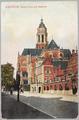 4921 Arnhem, Groote Kerk met Stadhuis, ca. 1930