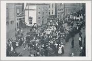 5074 Koninginnedag Arnhem, optocht Willemsplein, 1901-08-31