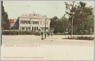 5112 Arnhem, Willemsplein met H.B.S., ca. 1905