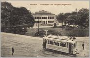 5114 Arnhem, Willemsplein met Hoogere Burgerschool, ca. 1905