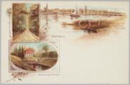 5366 Middachterlaan, Beekhuizen bij Velp en Panorama Rijnkade, ca. 1920