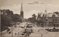 5591-0003 Arnhem Velperplein met Musis Sacrum, ca. 1920