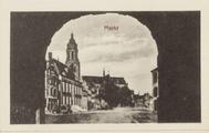 5599-0003 Markt, ca. 1920