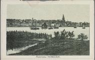 5605-0003 Panorama Nijmegen, ca. 1900