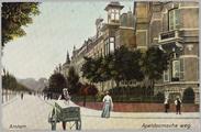 84 Arnhem. Apeldoornsche weg, ca. 1920