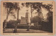 922 Monument Karel v. d. Heijden Arnhem,, 1917-12-06