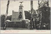 924 Monument Karel van der Heijden Arnhem, Berkenheuvel, ca. 1910