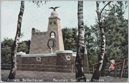 926 Arnhem. Berkenheuvel, Monument Karel van der Heijden, ca. 1910
