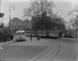 2132 Arnhem Tram en bus op het Willemsplein, 1937