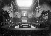 9 Interieur Raadzaal, 1899