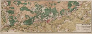 1616-0001 Wandelkaart van Arnhem en Omstreken. (Wageningen - Doesborg), 1878-00-00