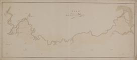 7728 Westervoort. Kaart van de rivier den IJssel van Westervoort tot aan de Zuiderzee, [1800-1900]