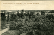 2144 Tuin en omgeving van het Instituut 'Berg en Dal' te Oosterbeek, 1910-1915