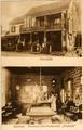 3006 Voorzijde en interieur Pension-Cafe-Restaurant Rozande, 1910-1920