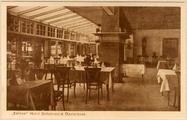 3033 Eetzaal Hotel Schoonoord Oosterbeek, 1930-1940