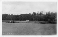 3268 Oosterbeek, Westerbouwing met Drielse veer, 1950