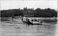 3270 Oosterbeek, Gezicht v.a. de Rijn op Rijnterras 'De Westerbouwing', 1950